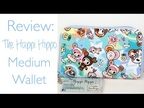 Review: The Happi Hippo Custom Medium Wallet in tokiSweet!