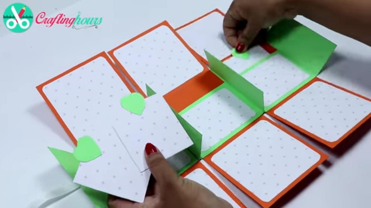 How to make scrapbook photo album card for best friend boyfriend how to make scrapbook photo album card for best friend boyfriend by craftinghours m4hsunfo
