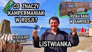 Rosjanie tłumaczą nazwę naszego kanału, ruska bania w kamperze i nasze plany nad Bajkałem (vlog 54)