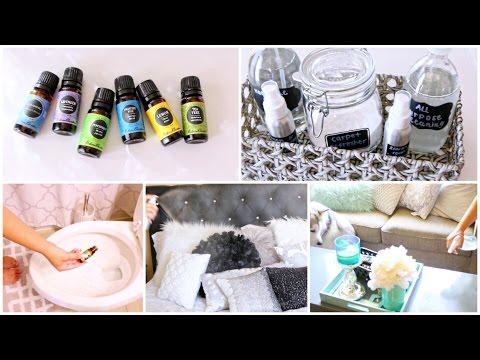 5 DIY'S Using Essential Oils ♡ Life Hacks