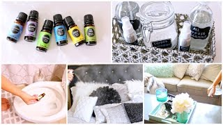 5 DIY'S Using Essential Oils ♡ Life Hacks