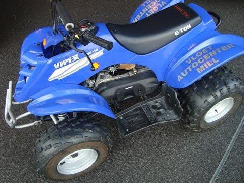 Yamaha viper eton quad rxl 90cc youtube for Yamaha 90cc atv