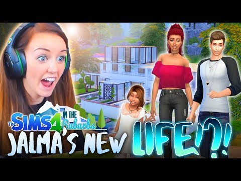 *NEW SERIES* 😅 SO THE HOUSE IS A LITTLE CRAZY...😅 (The Sims 4 IN THE SUBURBS #1! 🏘)