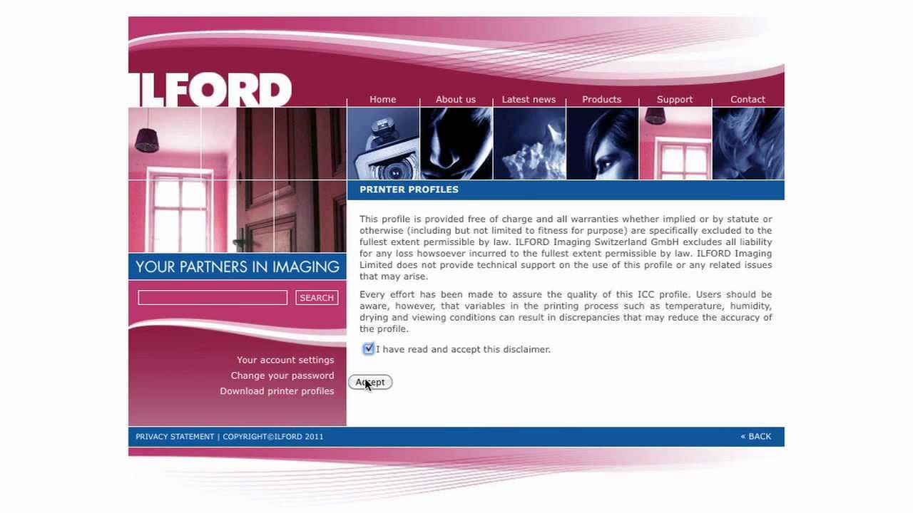 profil icc ilford