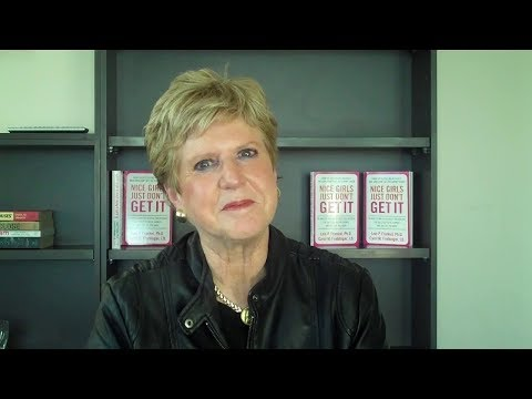 Dr Lois Frankel speaks about Nice Girls Just Don't Get It - YouTube