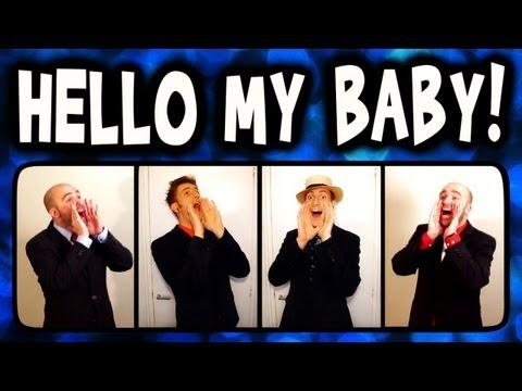 Hello My Baby (Frog Song) - A Cappella Barbershop Quartet (Trudbol & SgtSonny)