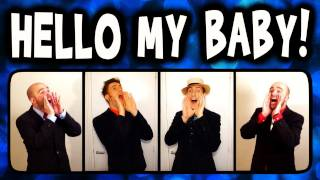 Video Hello My Baby (Frog Song) - A Cappella Barbershop Quartet (Trudbol & SgtSonny) download MP3, 3GP, MP4, WEBM, AVI, FLV Juli 2018