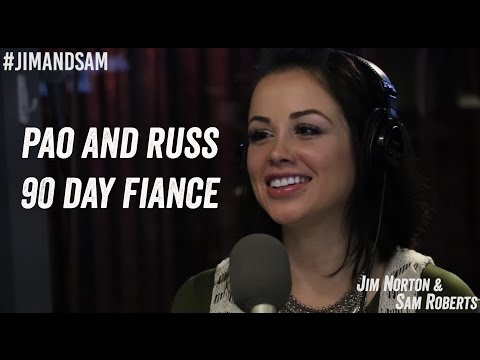 Pao and Russ from 90 Day Fiance - Colombia, Bikinis, Nerf Guns - Jim Norton & Sam Roberts