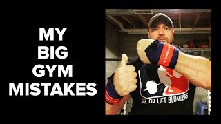 My 3 Biggest Gym Mistakes - Smith Machines, Knee Wraps, Volume + Frequency