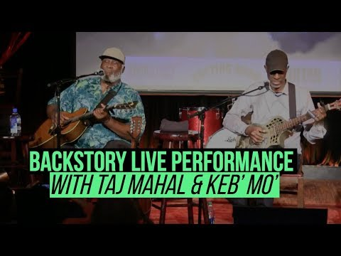 Taj Mahal and Keb' Mo' perform live