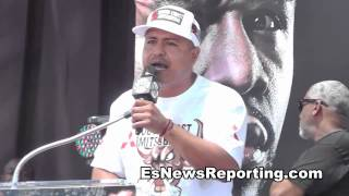 Robert Garcia Goes Off On Floyd Mayweather In LA