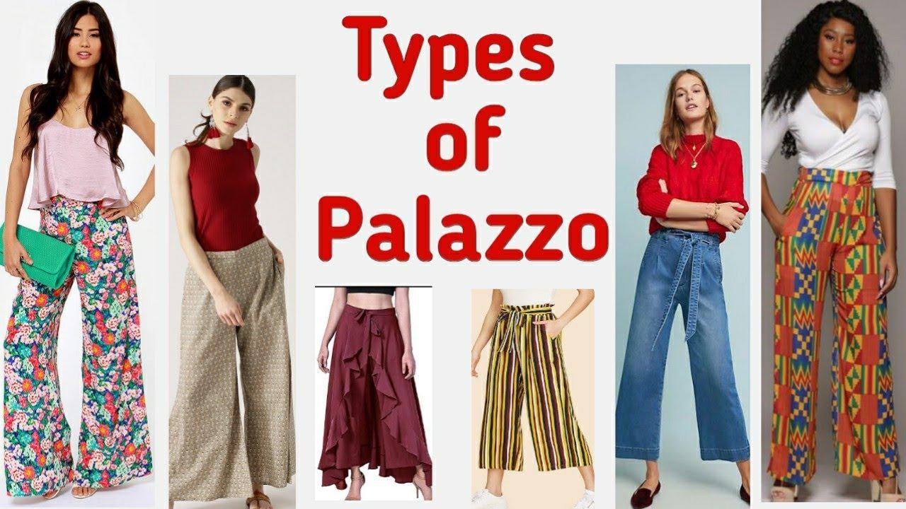 23 Types Of Palazzo Palazzo Style Fashionable Palazzo Youtube