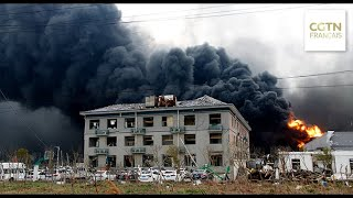 12 morts dans l'explosion d'une usine chimique à Yancheng