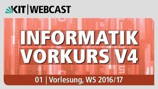 01: Informatik Vorkurs V4, Vorlesung, WS 2016/17
