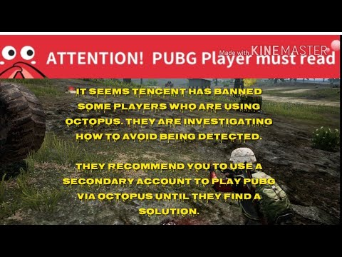 Pubg Mobile Account Ban For Using Octopus App 🤯
