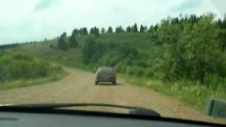 Север Башкирии. Дорога на Караидель