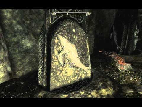 The Elder Scrolls V: Skyrim gameplay: Queen freydis sword puzzle