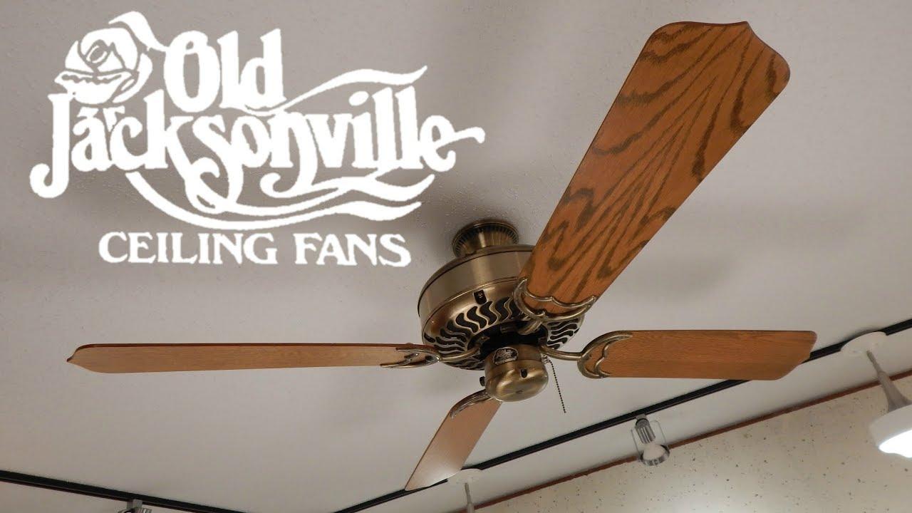 Old Jacksonville Jackson Ceiling Fan 1080p Hd Remake
