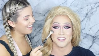 Drag Queen Makeup Tutorial with George ♡ Jasmine Hand