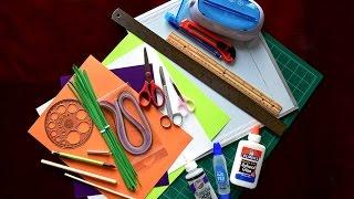Basic Quilling Tools Tutorial - Herramientas para la filigrana
