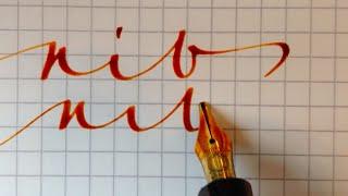 Stupendous MONTBLANC Fountain Pen NIB
