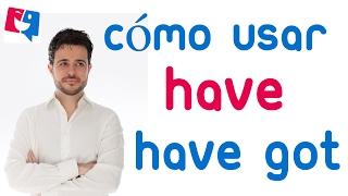 Have got y have diferencias; Cuándo usar have y have got