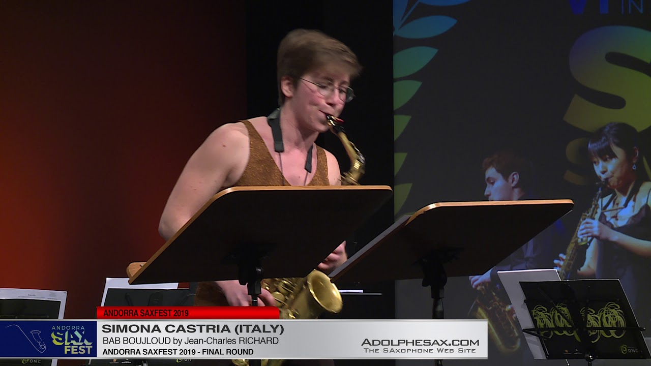 Andorra SaxFest 2019 -  Simona CASTRIA -  Bab Boujloud by Jean Charles RICHARD