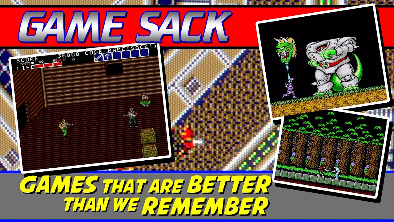 Games that are Better than We Remember - Game Sack