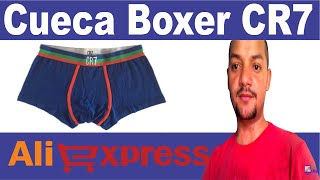 Unboxing Aliexpress Cueca Boxer CR7