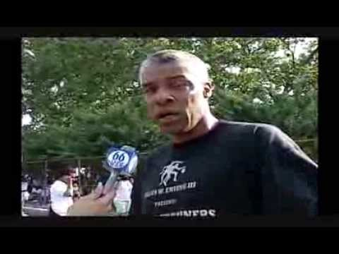 Julius Erving Interview and Slow Motion Video Philadelphia PA June 99