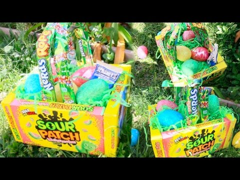 DIY Edible Easter Baskets!