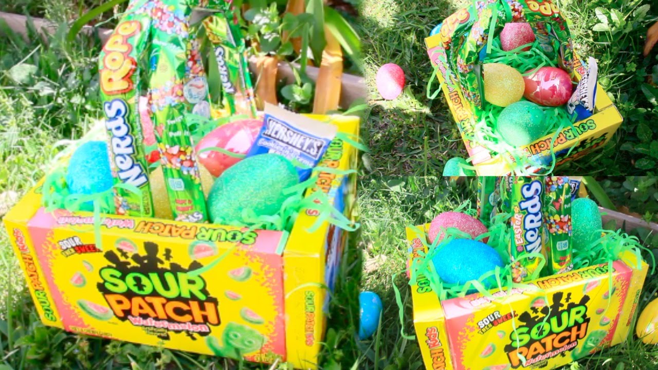 Diy edible easter baskets youtube negle Images