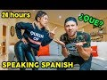 Speaking ONLY SPANISH To My Husband For 24 HOURS CHALLENGE **NO HABLA ESPANOL** | The Royalty Family