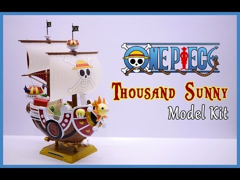 One Piece Thousand Sunny Ship Model