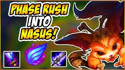 MR.POPPER | DIAMOND GNAR | PHASE RUSH GNAR VS NASUS FULL GAMEPLAY!