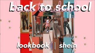 Back to School Lookbook : OUTFIT OF THE WEEK & HAUL⎪Shein