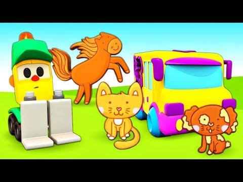 Развивающие мультики Магазин Грузика - учим Животных для детей