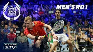 Squash: Allam British Open 2018 - Men\'s Rd1 Round-up