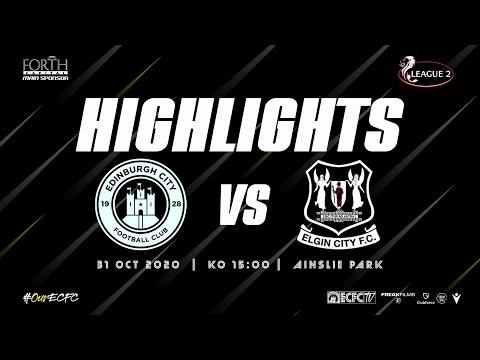 Edinburgh City Elgin Goals And Highlights