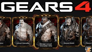 """ALL LOCUST PACKS ARE BACK!"" - Gears of War 4 Gear Packs - Opening 8 LOCUST PACKS!"