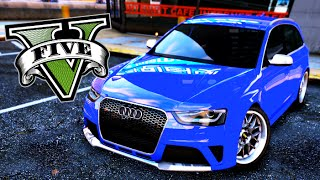 GTA V PHOTORREAL  4K Audi RS4 Avant 2013