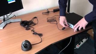Beveiligingscameraset met beveiligingscamera en 500GB DVR