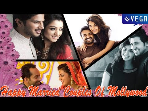 Happy Married Couples Of Mollywood || Latest Malayalam Film News and Gossips