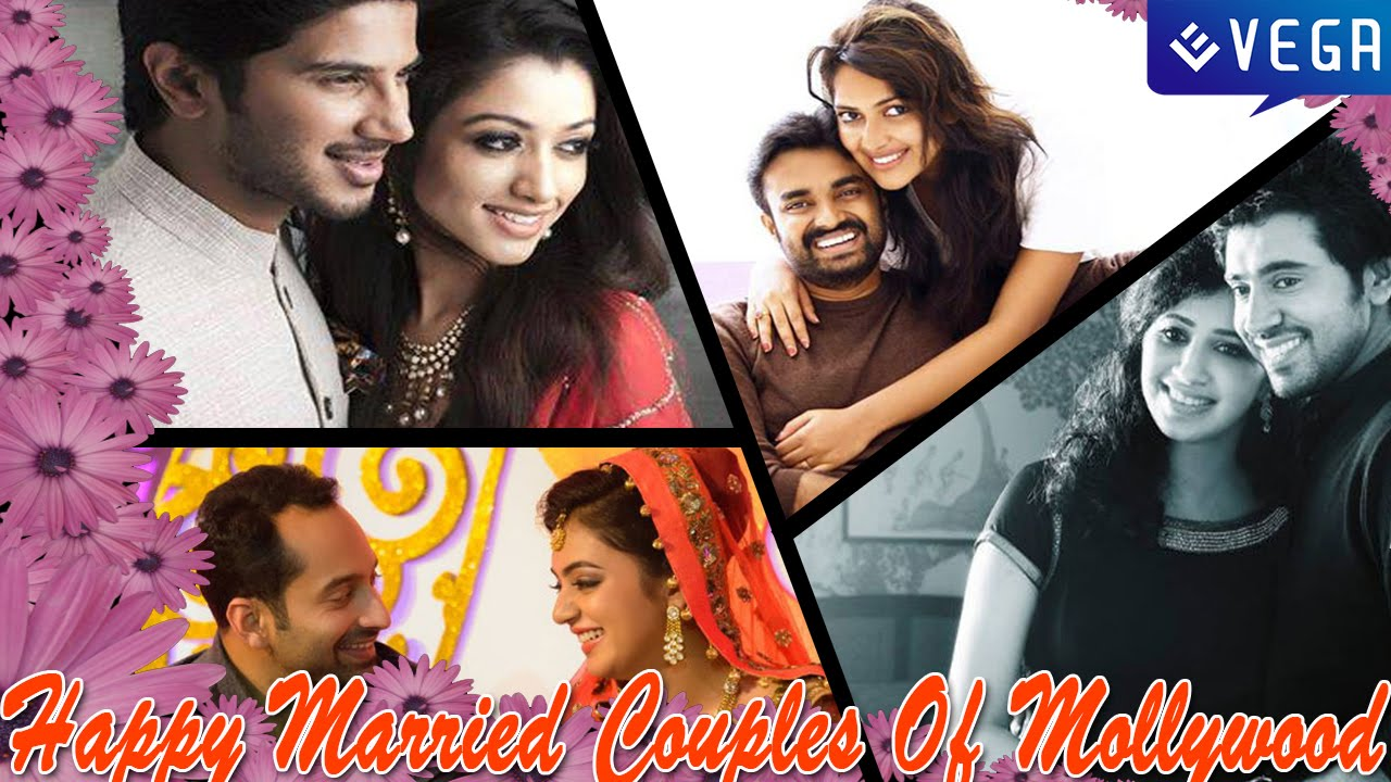 Happy Married Couples Of Mollywood || Latest Malayalam ...