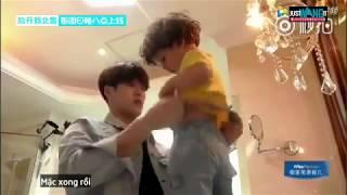 [VIETSUB] Let me go Baby ep 2 unreleased cut - Jackson chăm sóc thay đồ cho các bé