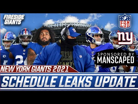 New York Giants OFFICIAL 2021 Regular Season Schedule Reaction