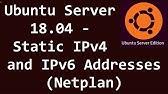 Ubuntu How to change IP address - Ubuntu 17 x - YouTube