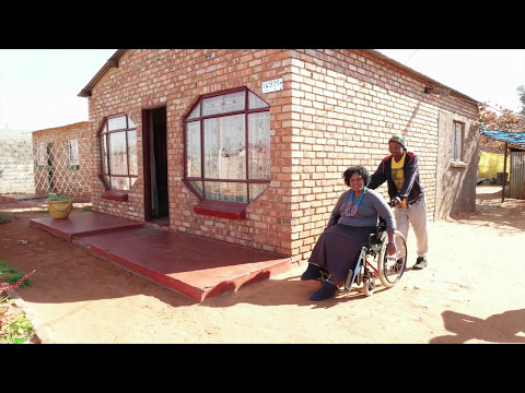 Inaccessible RDP housing for persons with disabilities in South Africa