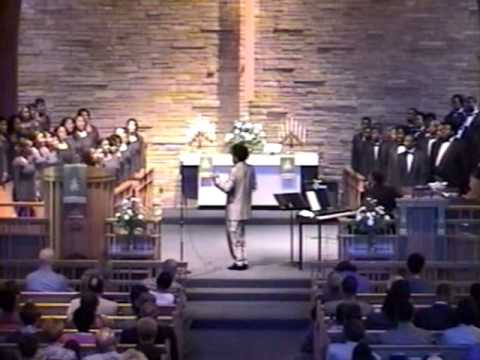 Morgan Choir at Epworth Methodist - October 6, 2002