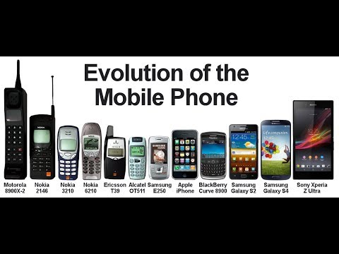 evolution of mobile devices
